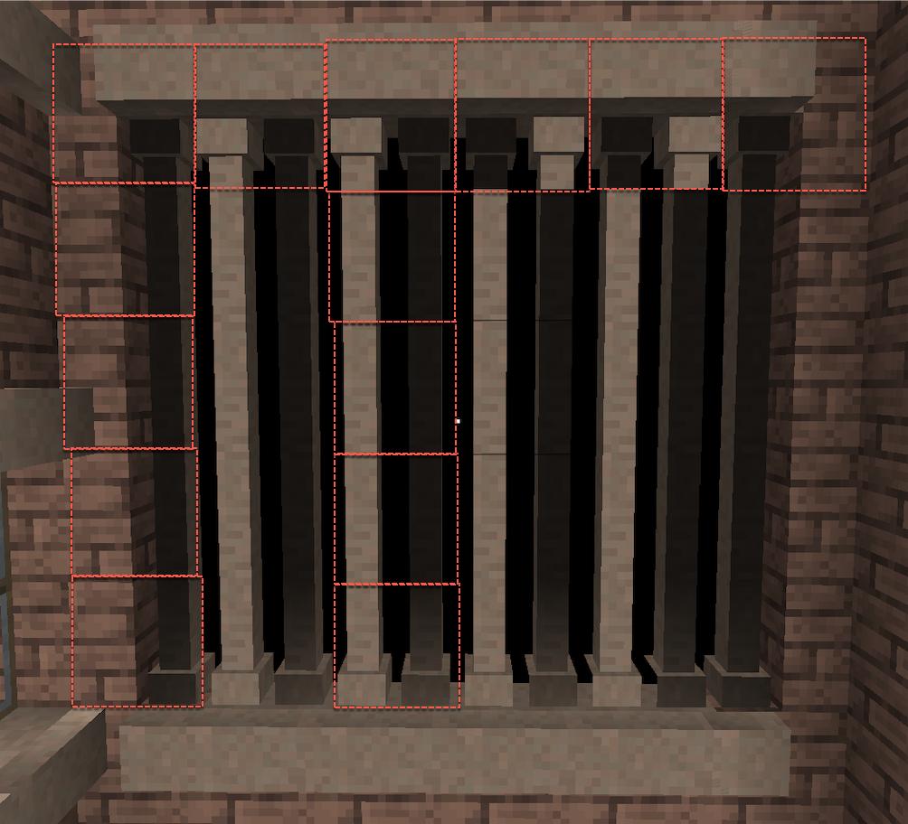 Weird texturing on pillars